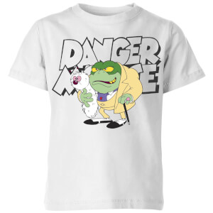 Danger Mouse Greenback Kids' T-Shirt - White