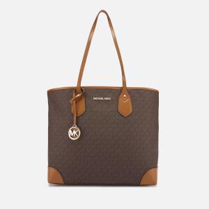MICHAEL MICHAEL KORS Women's Eva Large Tote Bag - Brown
