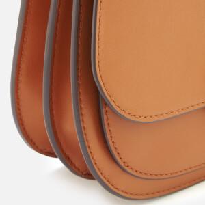 MICHAEL MICHAEL KORS Women's Lillie Medium Saddle Messenger Bag - Acorn: Image 4
