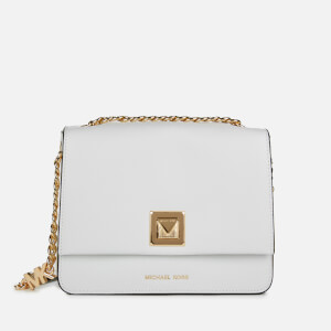 MICHAEL MICHAEL KORS Women's Sylvia Medium Messenger Bag - Optic White