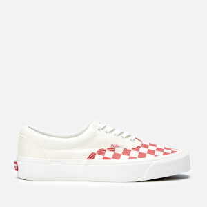 Vans Podium Era CRFT Trainers - Checkerboard/Racing Red