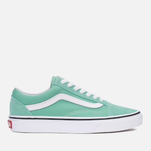 Vans Women's Old Skool Trainers - Neptune Green/True White