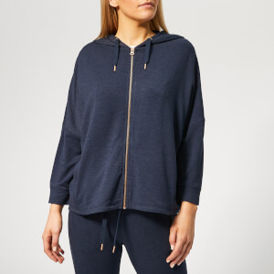 Superdry Sport Women's Active Studio Luxe Zip Hoody - Eclipse Navy Marl