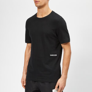 Calvin Klein Men's Twin Pack T-Shirt - Black