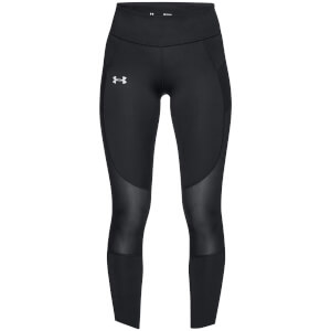 Under Armour Women's Qualifier Speed Pocket Running Leggings - Black