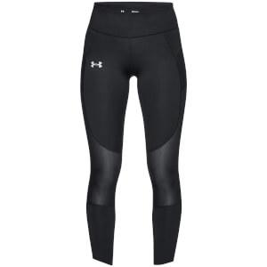 Under Armour Women's Qualifier Speed Pocket Running Leggings - Black