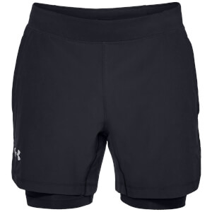 Under Armour Qualifer Speed Pocket 2-in-1 Running Shorts