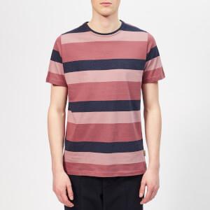 Oliver Spencer Men's Conduit T-Shirt - Raspberry Multi