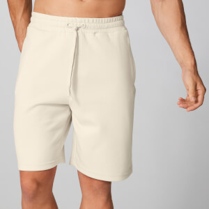 Form Sweat Shorts - Ecru