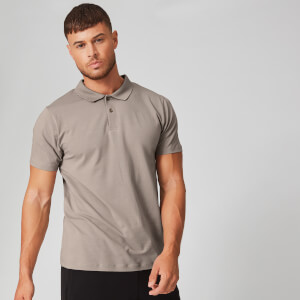 Luxe Classic Polo - Quarry