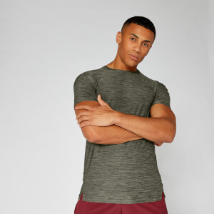 Dry-Tech Infinity T-Shirt — Birch Marl