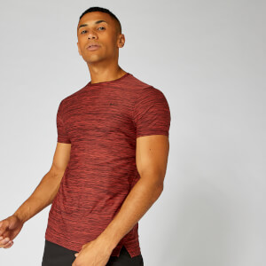 T-Shirt Dry-Tech Infinity — rouge chiné