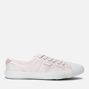 Superdry Women's Low Pro Canvas Trainers - Rose Pink