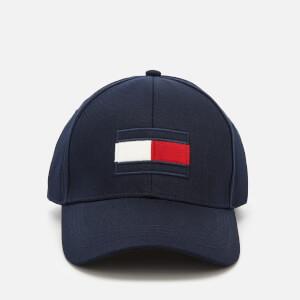 Tommy Hilfiger Men's Large Flag Baseball Cap - Tommy Navy