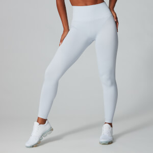 Myprotein Luxe Ribbed Seamless Leggings - Sleet