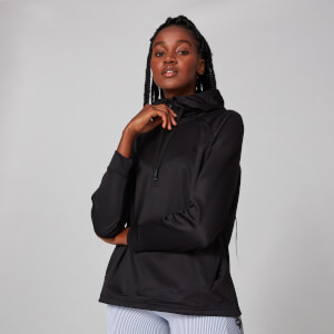 Myprotein Tech Pull Over Hoodie - Black