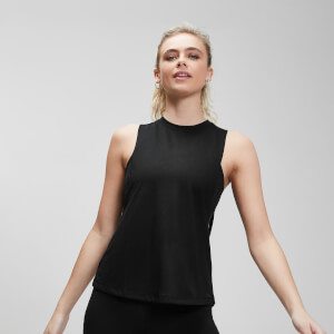 Essentials Training Drop Armhole Vest - Black