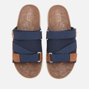 TOMS Men's Trvl Vegan Lite Sandals - Navy