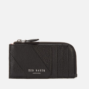 Ted Baker Men's Fitcard Seamed Leather Card Holder - Black