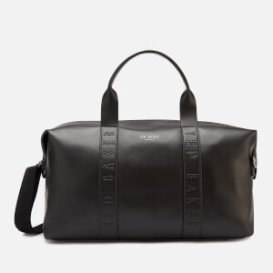 Ted Baker Men's Moral Debossed Holdall Bag - Black