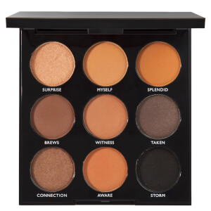 Morphe 9A Always Golden Eye Shadow Palette
