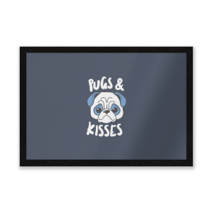 Pugs & Kisses Entrance Mat