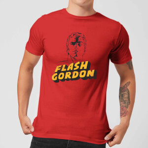 Flash Gordon Classic Hero Pose Men's T-Shirt - Red