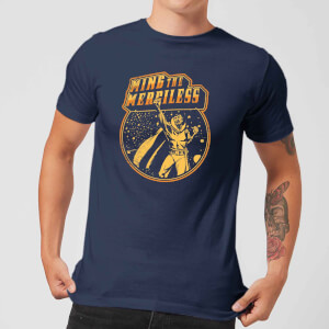 T-Shirt Flash Gordon Ming The Merciless Retro Comic - Blu Navy - Uomo