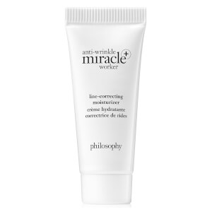 philosophy Anti-Wrinkle Miracle Worker Line-Correcting Moisturiser Deluxe Tube (Free Sample 7ml)