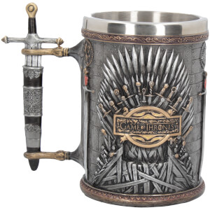 Exklusiver Game of Thrones Eiserner Thron Krug - Silber