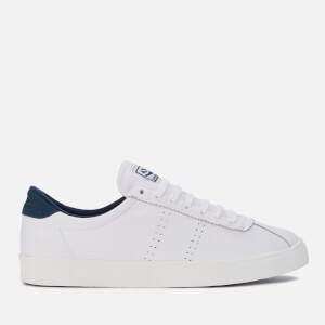 Superga Men's 2843 Comfleau Trainers - White/Navy
