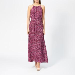 d865f95628b3 MICHAEL MICHAEL KORS Women's Grand Pavillion Maxi Dress - Black/Electric  Pink