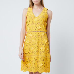 MICHAEL MICHAEL KORS Women's Carnation Lace Dress - Golden Yellow
