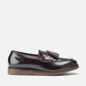 Hudson London Men's Calne Kiltie Tassel Loafers - Bordo