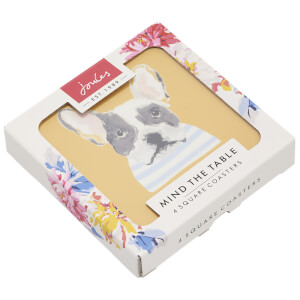 Joules Dog Print Coasters