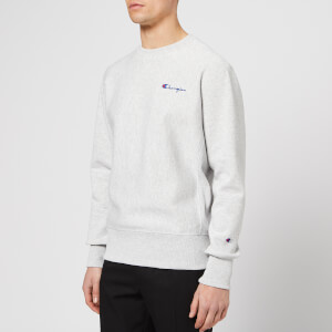 Champion Men's Back Logo Sweatshirt - Grey