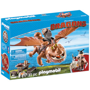 Playmobil DreamWorks Dragons Fishlegs and Meatlug (9460)