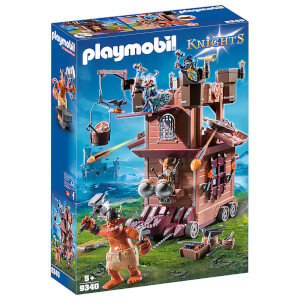 Playmobil Knights Mobile Dwarf Fortress with Shot Ballista (9340)
