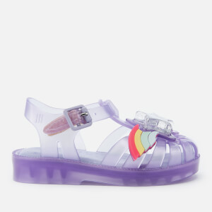 Mini Melissa Toddlers' Mini Rainbow Sprite Sandals - Lilac
