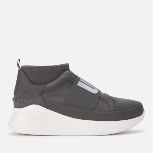 UGG Women's Neutra Logo Trainers - Charcoal