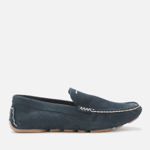UGG Men's Henrick Stripe Perf Driver Shoes - Navy