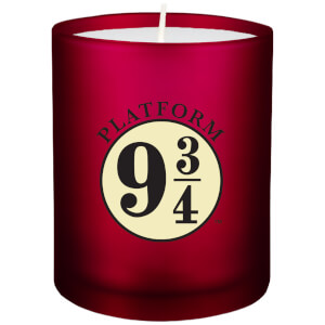 Harry Potter Glass Candle - Platform 9 3/4