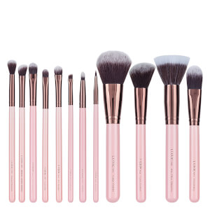 Luxie - Rose Gold 12 Piece Makeup Brush Set