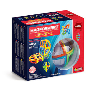 Magformers Kurve Set – 40 Stücke