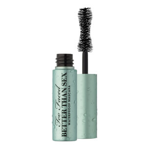 Too Faced Travel Size Better Than Sex Waterproof Mascara - Black 4.8ml