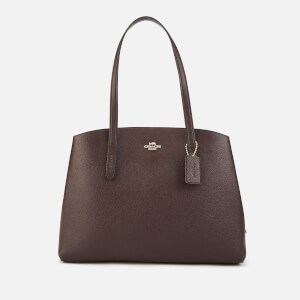 Coach Women's Polished Pebble Leather Charlie 40 Holdall - Oxblood