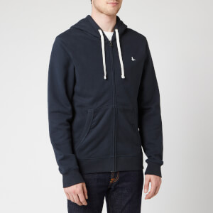 Jack Wills Men's Pinebrook Zip Hoodie - Navy