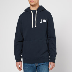 Jack Wills Men's Thurlby Popover Hoodie - Navy