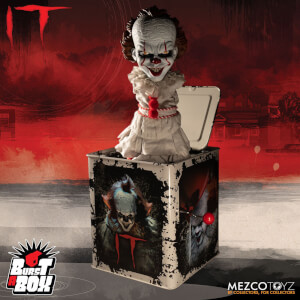 Mezco IT 2017 Pennywise Burst-a-Box