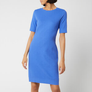 BOSS Women's Dabutton Dress - Cornflower Blue